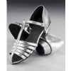 Silver Strip Shoes
